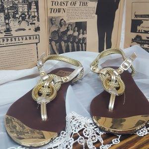 Dolce Vita gold sandals size 9.5